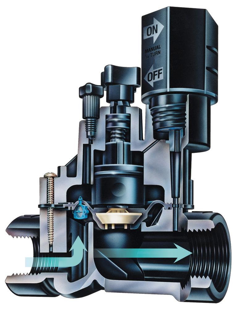 Sprinkler Valve Parts : Rain bird dv npt quot mm valve thread