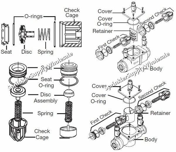 watts 007 m3 total repair kit 3  4 u0026quot  0888554 rk